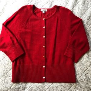 St. John Sport Knit Cardigan